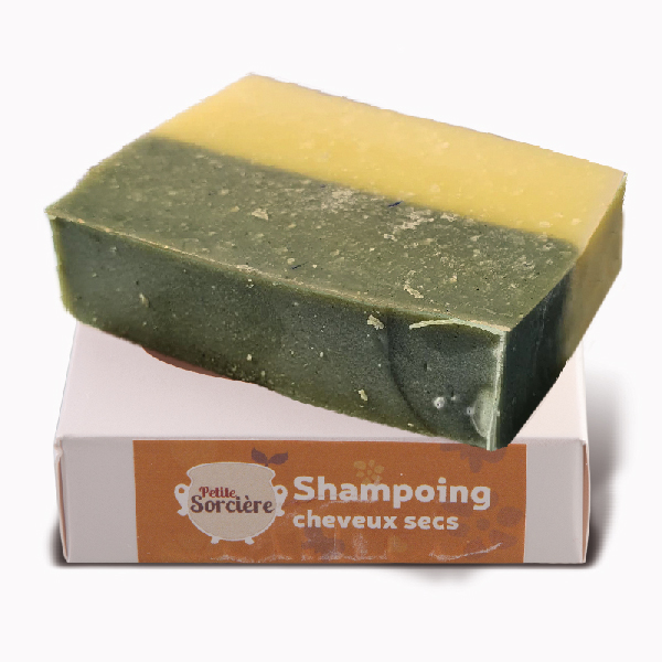 Savon Shampoing Cheveux Secs
